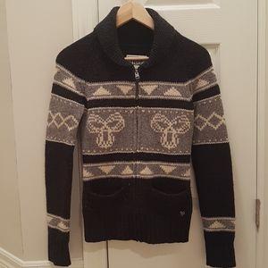 Aritzia TNA 100% lambwool Sea to Sky sweater  xs